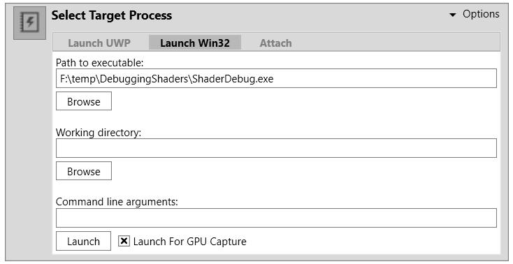 Unity - Manual: Debugging DirectX 12 shaders with PIX