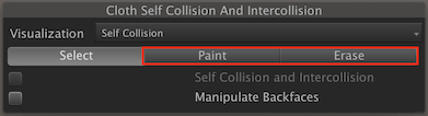Self Collision parameters