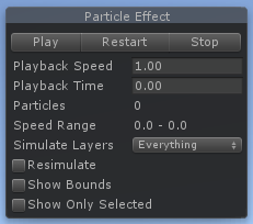 Unity - Manual: Particle System