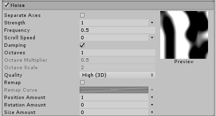 Unity - Manual: Noise module