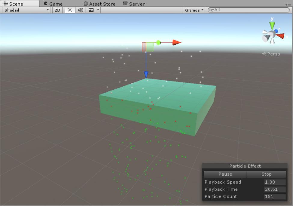 Unity - Manual: Triggers module