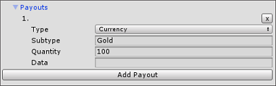 Populating Payouts fields for Products in the IAP Catalog GUI