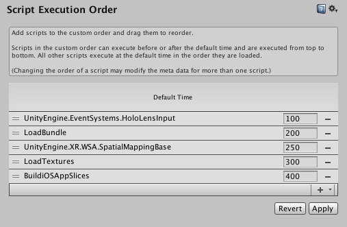 Unity - Manual: Script Execution Order