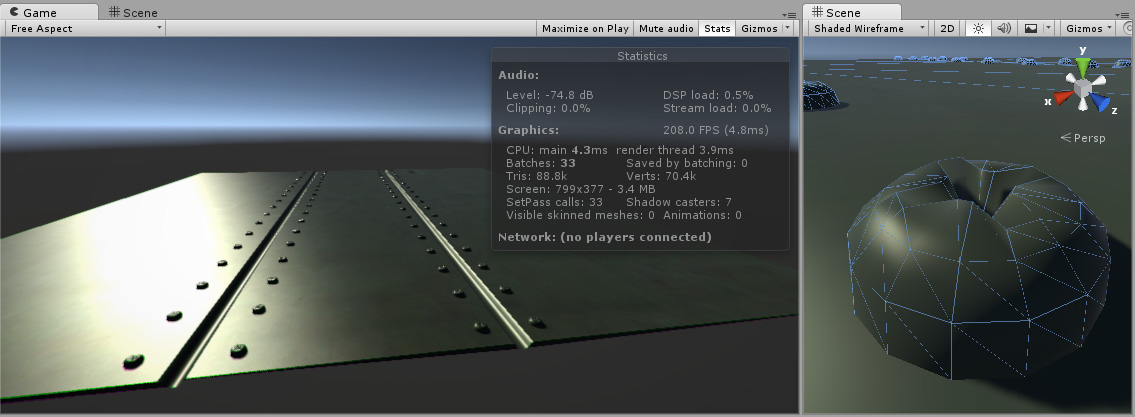 Unity - Manual: Normal map (Bump mapping)