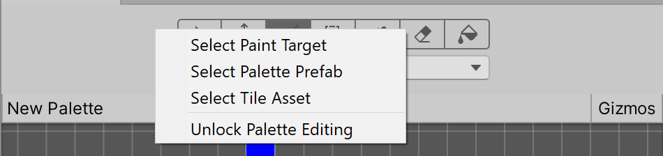 unity manual creating a tile palette