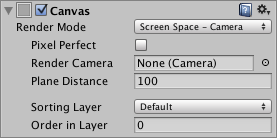 Unity - Manual: Canvas