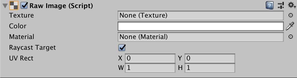 Unity - Manual: Raw Image