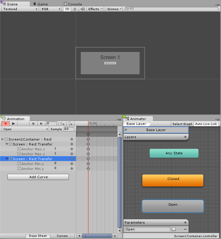 Unity - Manual: Creating Screen Transitions