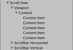 Unity - Manual: Scroll Rect